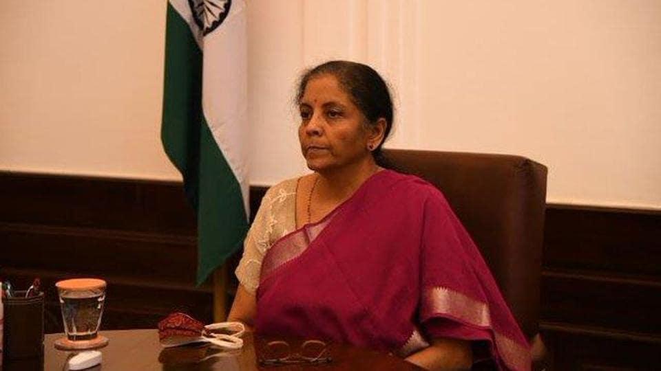 File photo of finance minister Nirmala Sitharaman.
