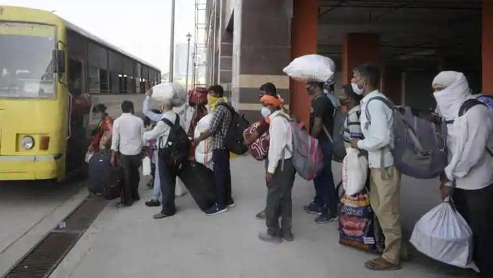 The Uttar Pradesh and Rajasthan governments sparred on Friday over a Congress attempt to arrange 1,000 buses for the transport of migrant workers walking to their homes in Bharatiya Janata Party (BJP)-ruled UP after being stranded by the lockdown.