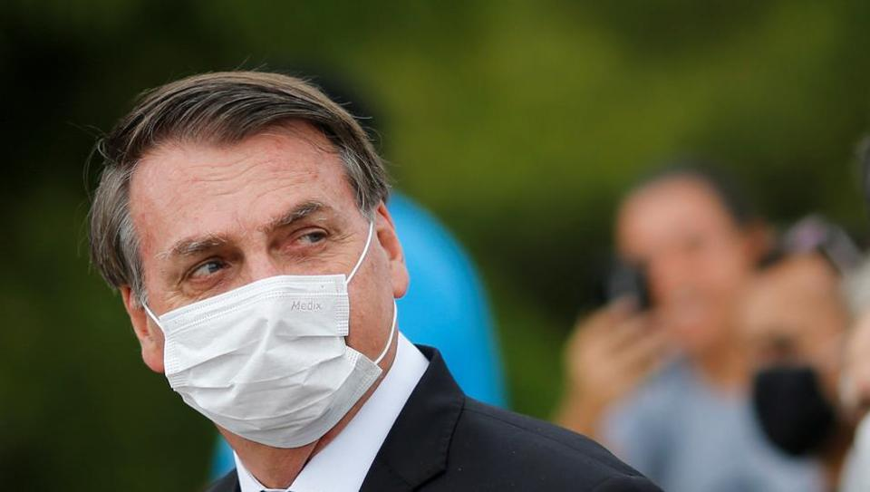 """Brazil's President Jair Bolsonaro who denies any wrongdoing, said the video's release showed """"one more farce broken down"""" and no indication of interference with the federal police."""