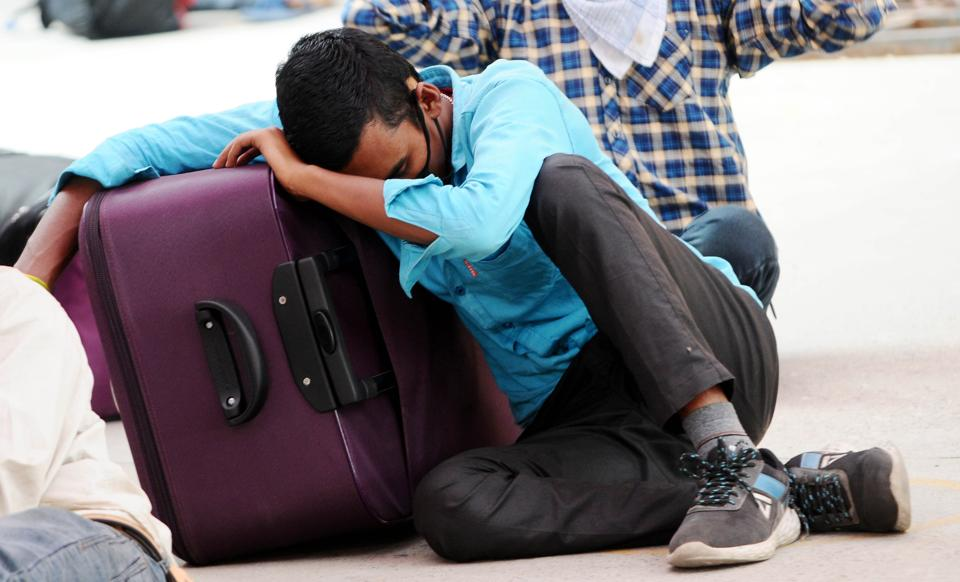 So far, 80, 000 migrants have left the city in 65 trains. The state government has reportedly spent around Rs 4.37 crore on facilitating their return.