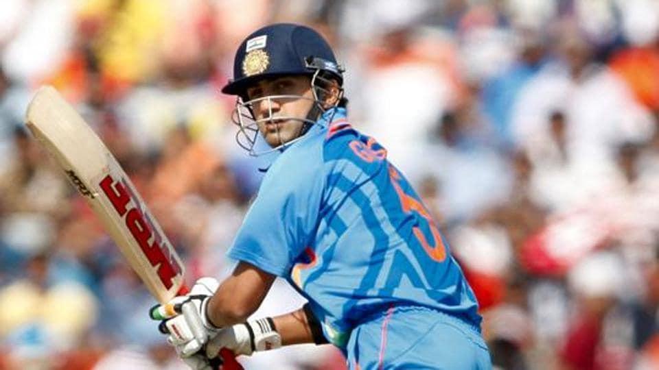 Gautam Gambhir of India
