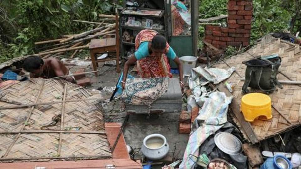 Cyclone Amphan, which ripped through 16 of the 23 districts of Bengal, had devastated Kolkata, North 24 Parganas and South 24 Parganas with ferocious winds and rain, killing at least 80 people.