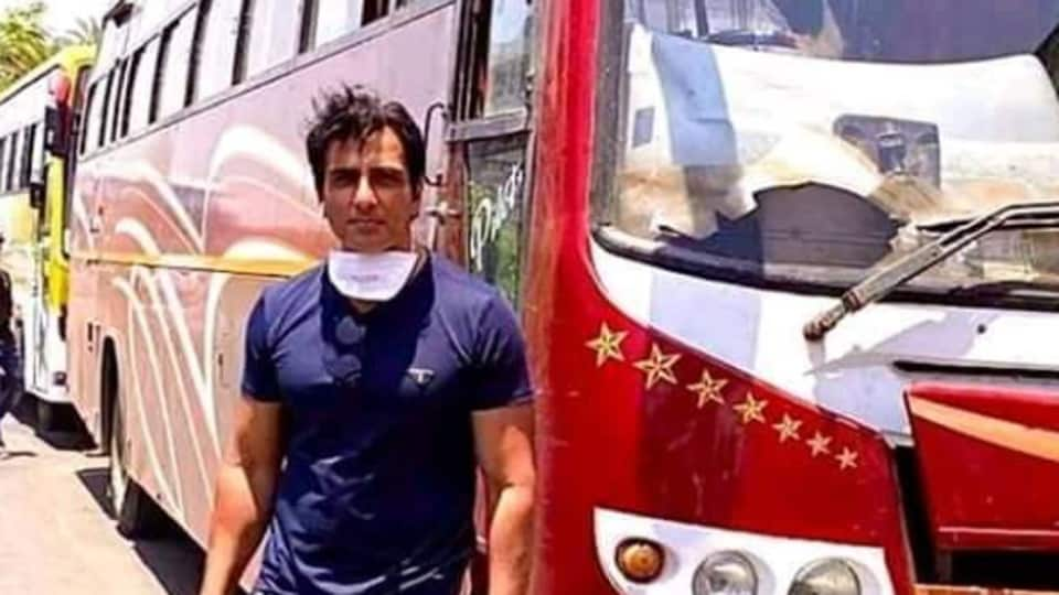 Sonu Sood has arranged for many migrant workers to reach their villages.