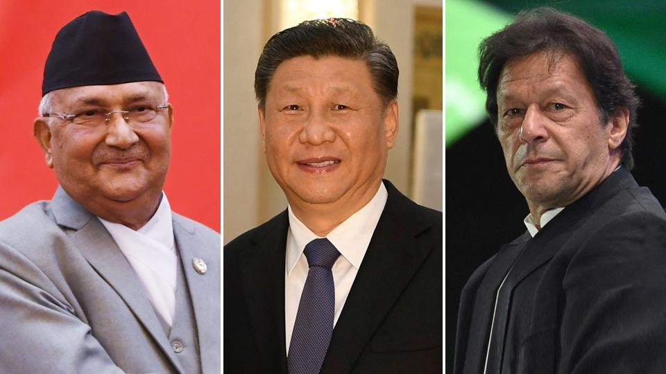 Beijing cat's-paws:China is using Pakistan in Jammu and Kashmir and Nepal in Uttarakhand to put pressure on India