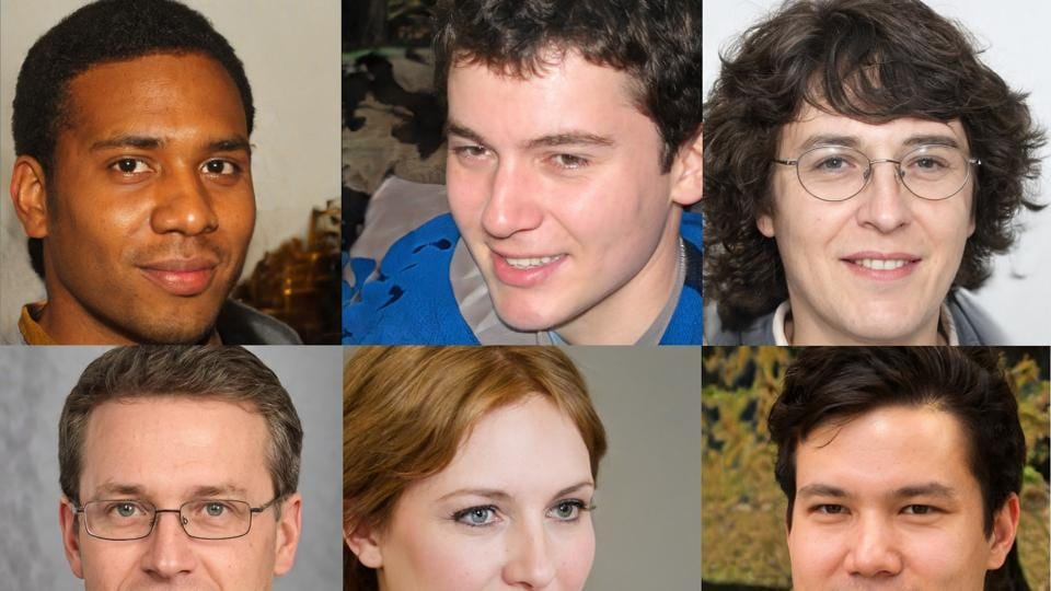 If you haven't already, check out ThisPersonDoesNotExist.com. The site displays a new human face every time you refresh the page.