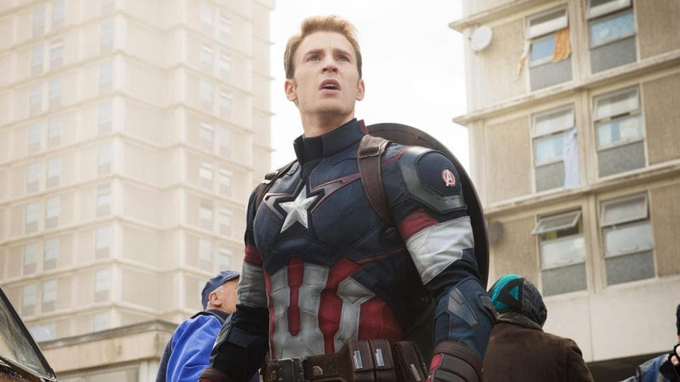 Chris Evans has played Captain America in seven Marvel films.