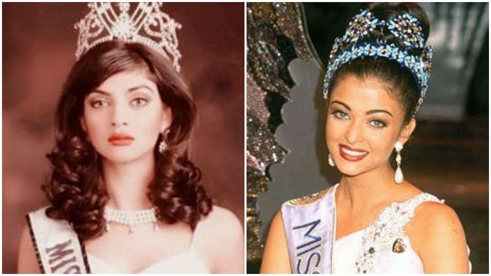 Sushmita Sen and Aishwarya Rai both won the Miss Universe and Miss World crown, respectively.