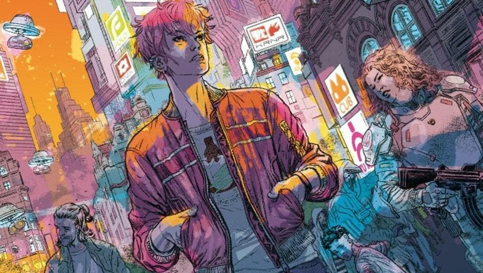 Duncan Jones completes Mooniverse trilogy with graphic novel titled Madi.