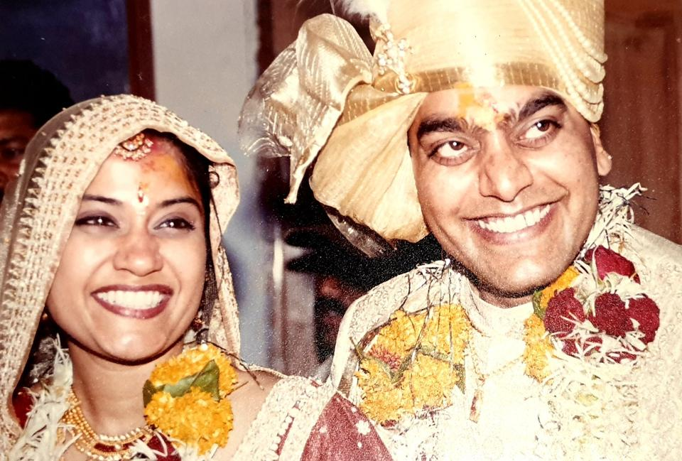 Ashutosh Rana, Renuka Shahane celebrate 19 years of marriage with wedding pic, notes of love: 'I am forever yours'