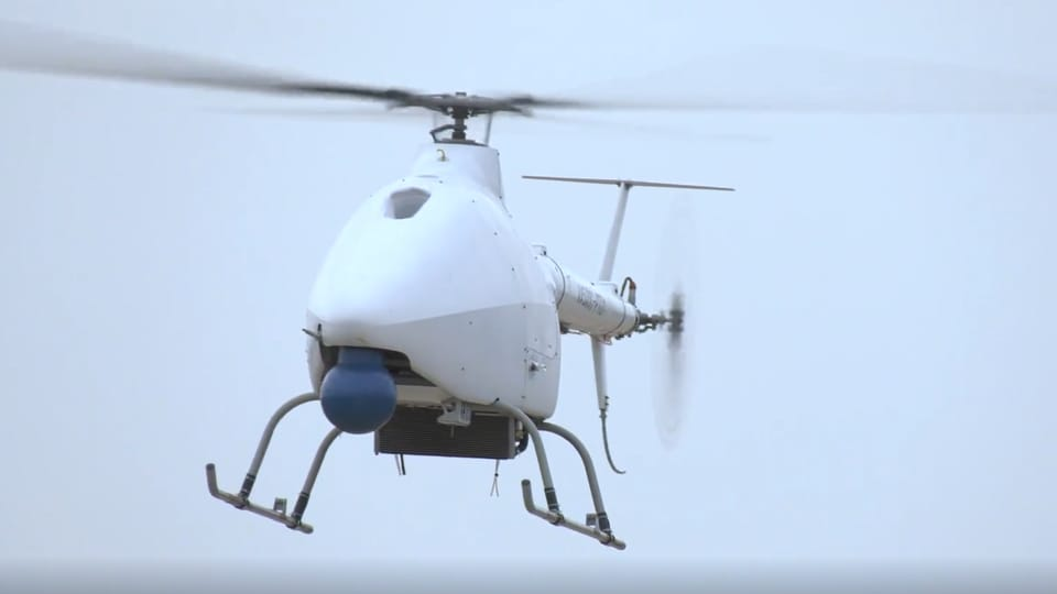 The AR500C unmanned helicopter is equipped to carry out fire strikes, according to reports.