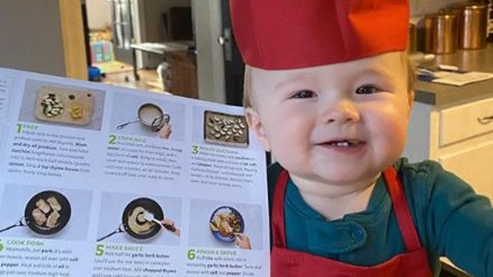 Meet Chef Kobe, the 1-year-old chef taking the internet by storm with his culinary cuteness
