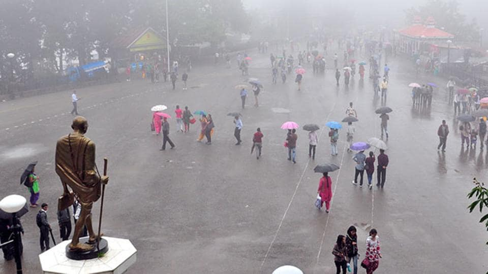 Himachal's meterological department has issued yellow warning for Bilaspur, Chamba, Kangra, Shimla, Solan and Mandi districts for May 28.