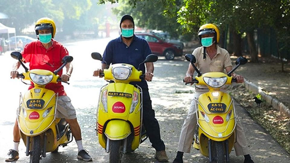Bounce has currently deployed over 1500 vehicles in Bangalore and Hyderabad and will be introducing more scooters batch wise.