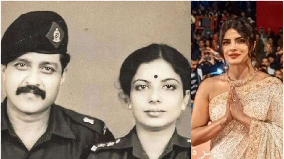 Priyanka Chopra's parents served in the army.