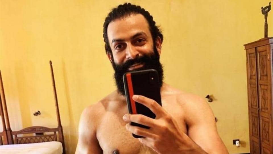Prithviraj is excited for his new movie.