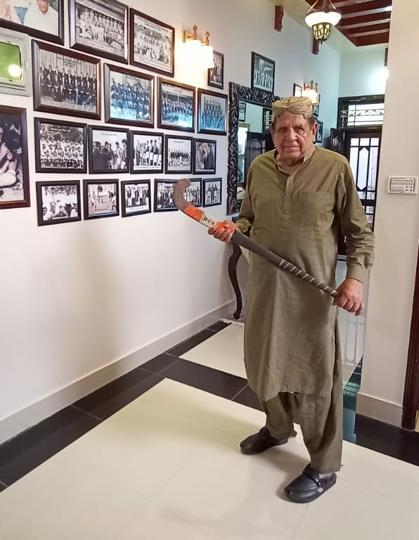 Motiullah Khan was part of the 1960 Olympics squad when Pakistan won its maiden gold.