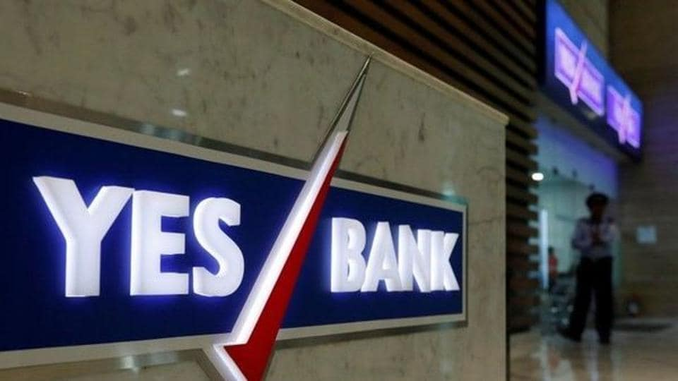 File photo of a YESBank branch in Mumbai