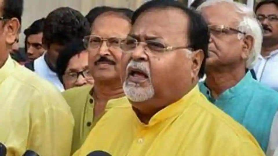 Bengal education minister Partha Chatterjee.