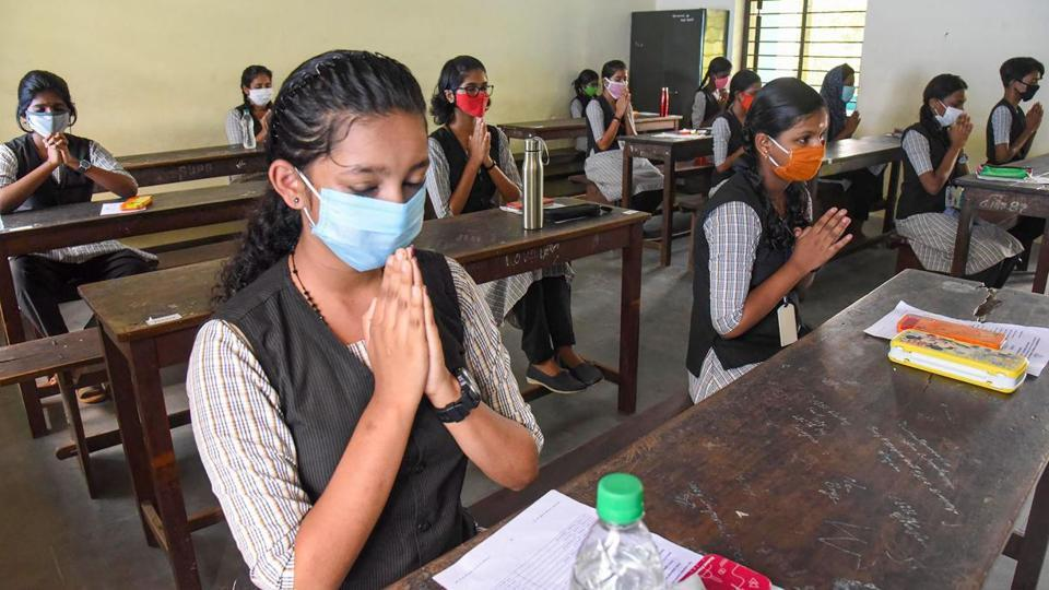 Students in Kerala appear for SSLC, VHSE exams 2020