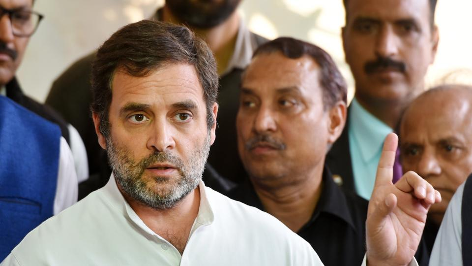 NeOn Tuesday, Rahul Gandhi criticised the government's decision to continue with the nationwide lockdown and said contrary to expectations, infections had spiked during this period.