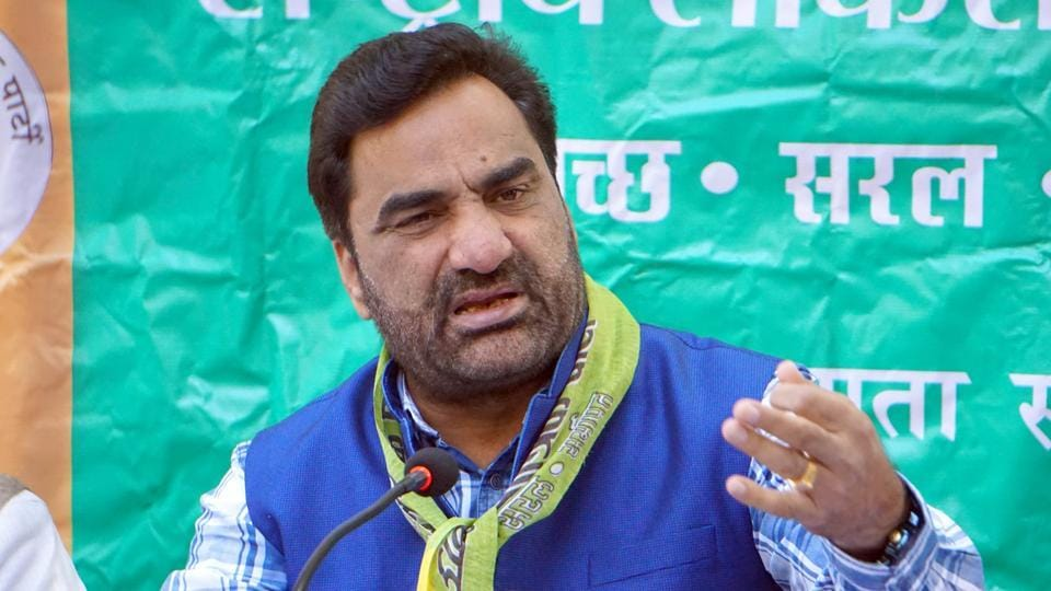 Rashtriya Loktantrik Party convenor and MP Hanuman Beniwal interacts with mediapersons in this file photo.