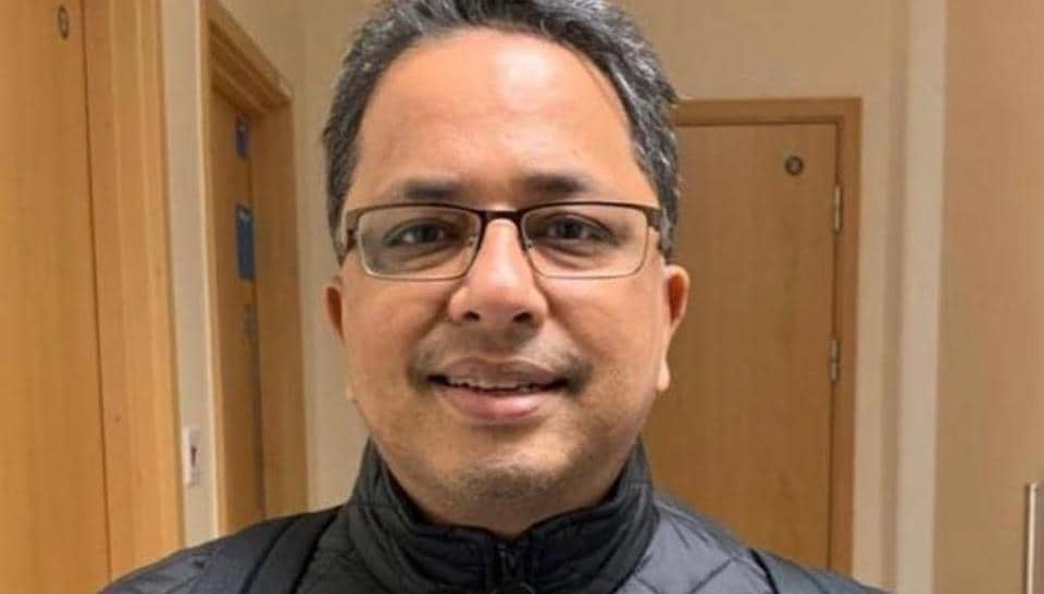 Rajesh Gupta (in photo) was working in the Frimley Health NHS Foundation Trust's hospital near London during the coronavirus pandemic.