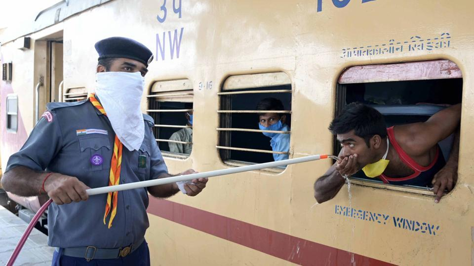 A few incidents of migrant workers onboard Shramik Special trains alleging scarcity of water and food on trains were reported in the last week.