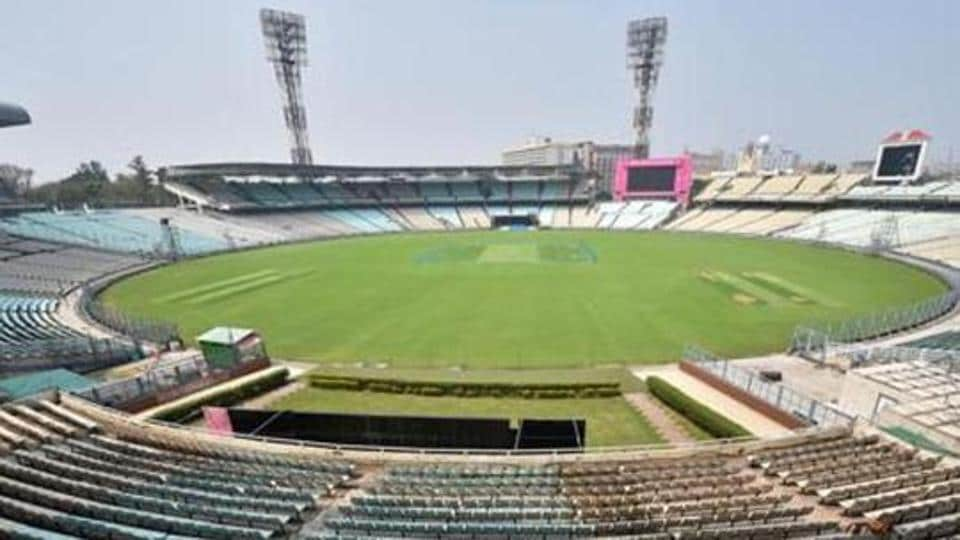 Kolkata: A view of the Eden Garden Stadium ahead in Kolkata