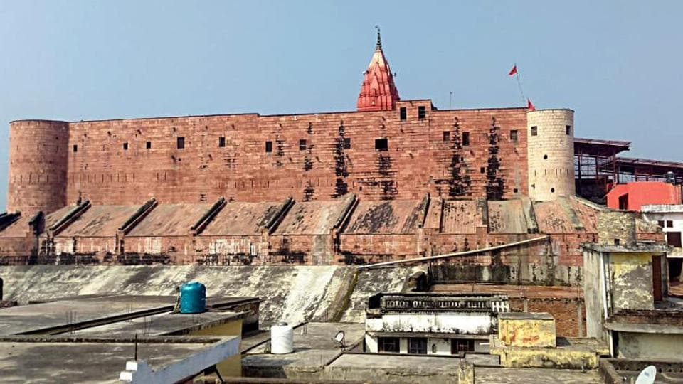 Uttar Pradesh, Oct 16 (ANI): A general view of Ayodhya City on Wednesday. Today is the last day for the Ram Mandir-Babri Masjid dispute case in Supreme Court. (ANI Photo)