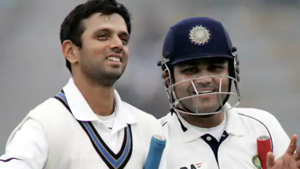 File image of Rahul Dravid and Virender Sehwag.
