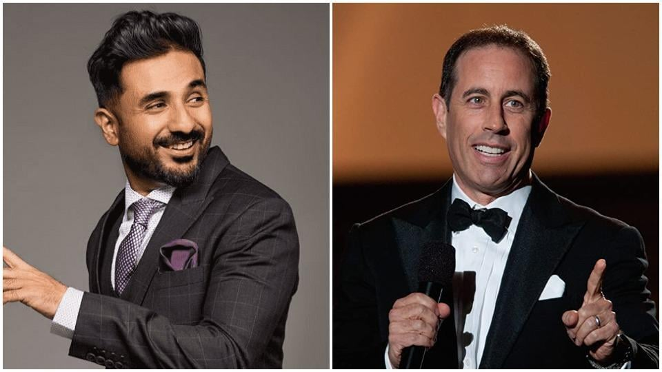 Vir Das is happy on hearing his praise from Jerry Seinfeld.