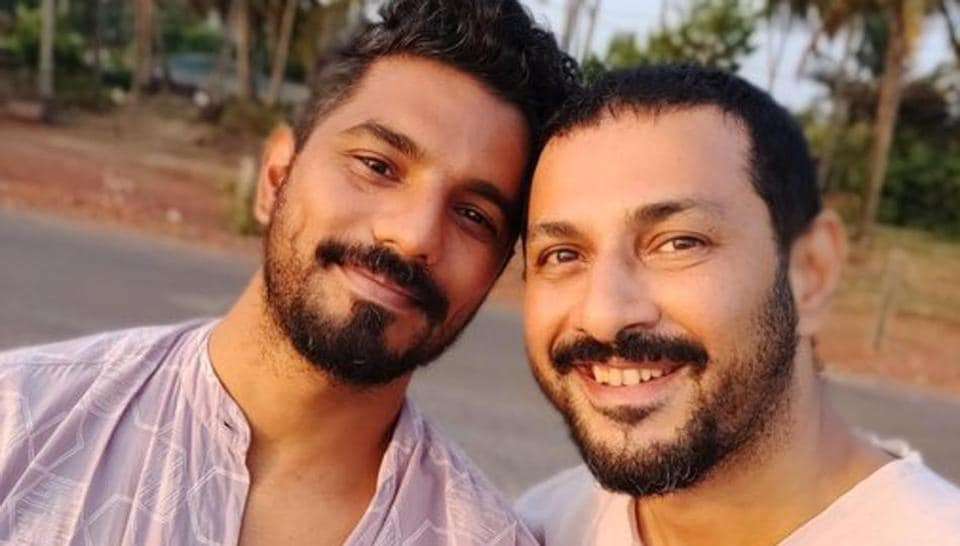 Apurva Asrani poses with partner Siddhant.
