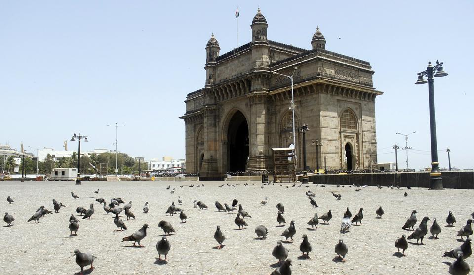 The Gateway of India during the national lockdown