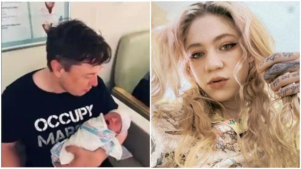 Grimes and Elon Musk became parents to X AE A-XII earlier this month.
