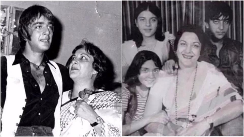 Sanjay Dutt loved his mother Nargis a lot.