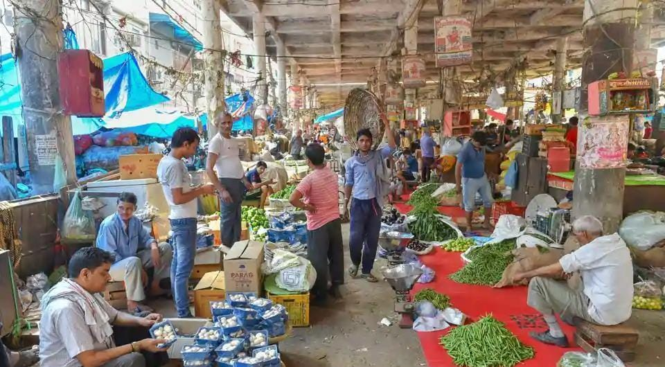 Almost all markets were opened in the walled city, except a few that were denied permission by the state government because they are located in congested lanes, where maintaining social distancing norms is a tall order.