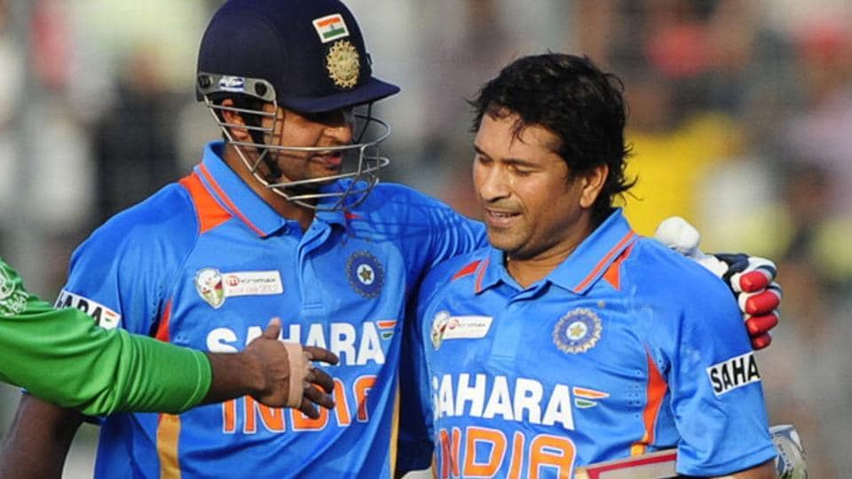 Suresh Raina was Sachin Tendulkar's batting partner when the batting maestro scored his 100th century.