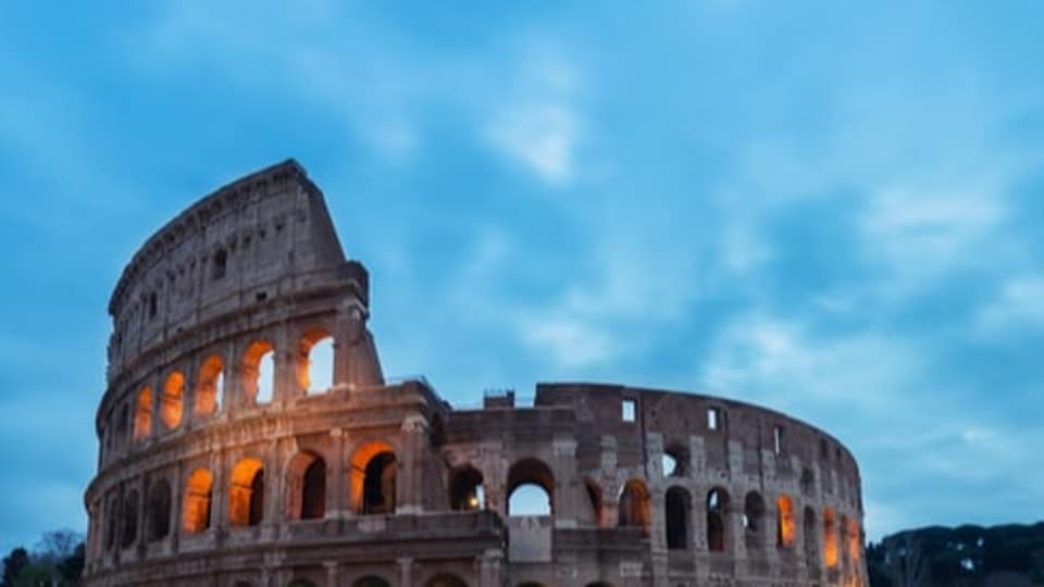 Across town, Rome's other big attraction — the Colosseum — also opened its ancient doors, but it appeared there were more television crews than tourists on hand.