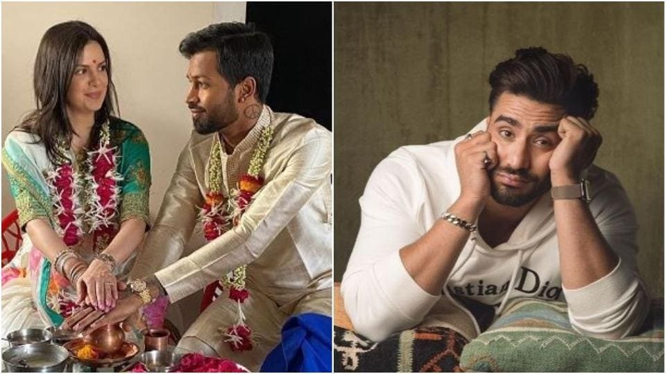 Hardik Pandya and Natasa Stankovic are married and Aly Goni has shared his wishes for the couple.