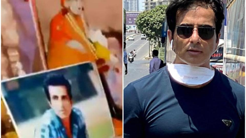 Sonu Sood has been helping migrant workers travel home.