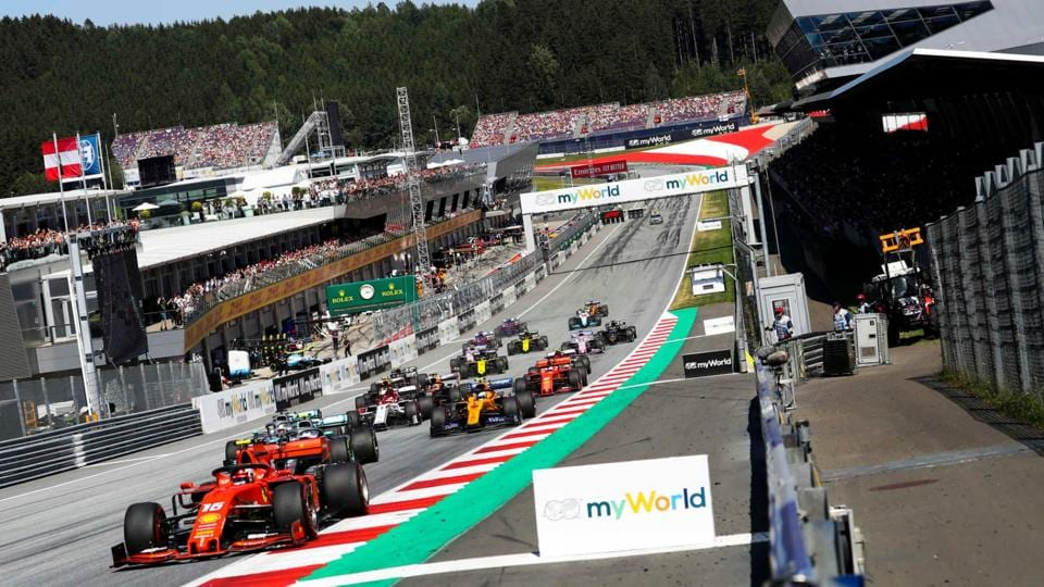F1 season will start with 2 races at the Austrian GP in July