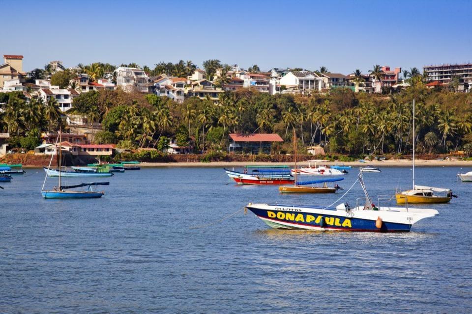 Spur to poetry:Dona Paula beach, Panaji, Goa.
