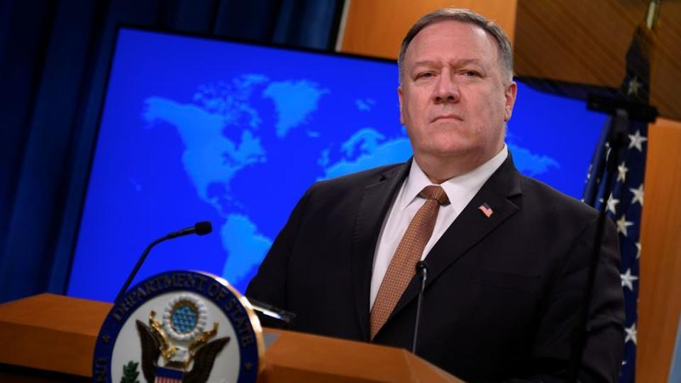 US secretary of state Mike Pompeo said that the recent Chinese actions on the Indian border or Hong Kong or the South China Sea have been part of the Chinese behaviour in the recent past.