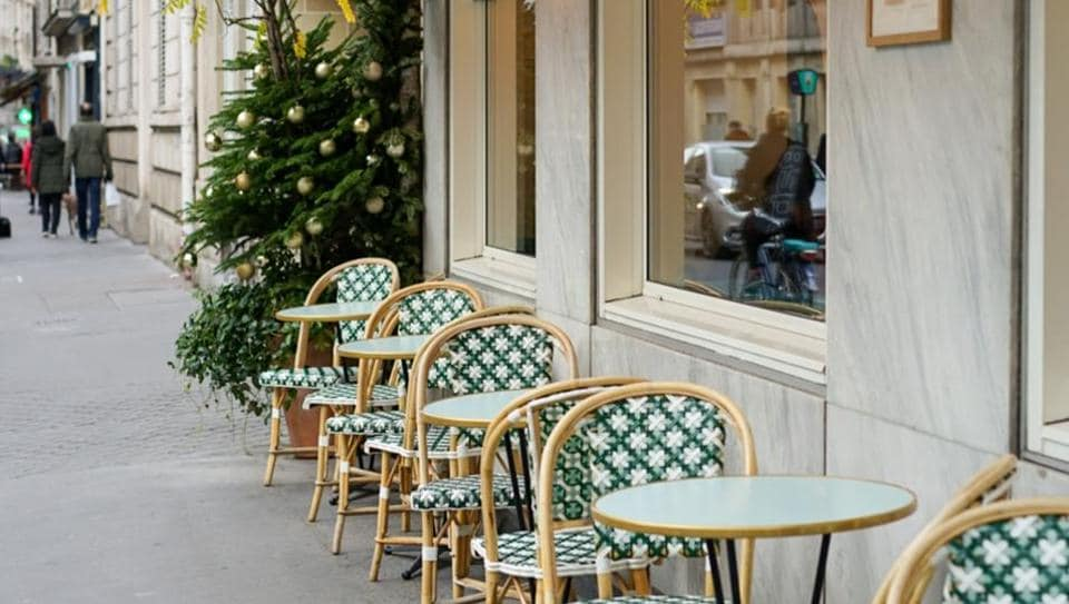 Locals could once again enjoy a morning espresso, albeit only at tables spaced a metre apart, as the government allowed cafes and restaurants to open outdoor terraces. (Representational Image)
