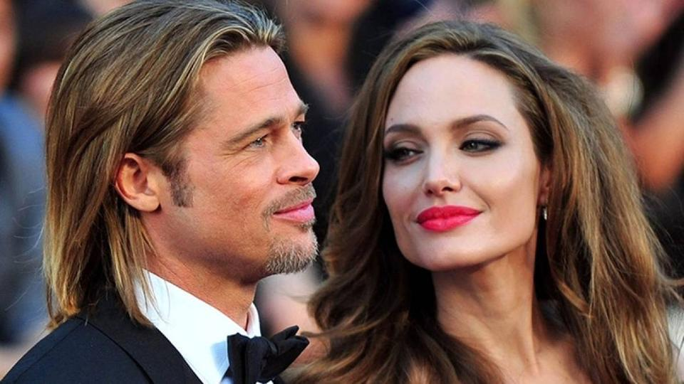 Brad Pitt was rumoured to have fallen for Angelina Jolie while still married to Jennifer Aniston.