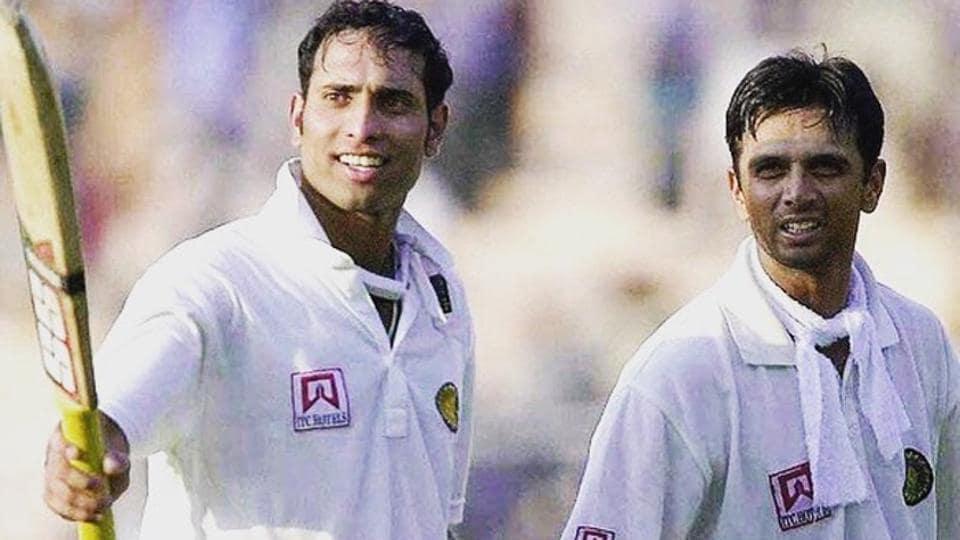 VVS Laxman and Rahul Dravid during their epic partnership of 376 runs.