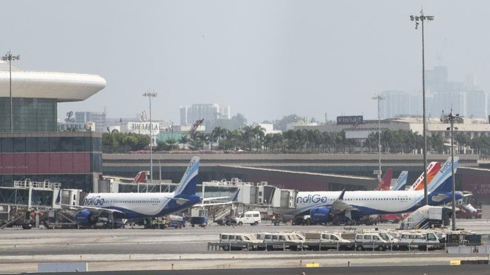 The highest passenger load capacity was seen on the Delhi route departing out of Mumbai.