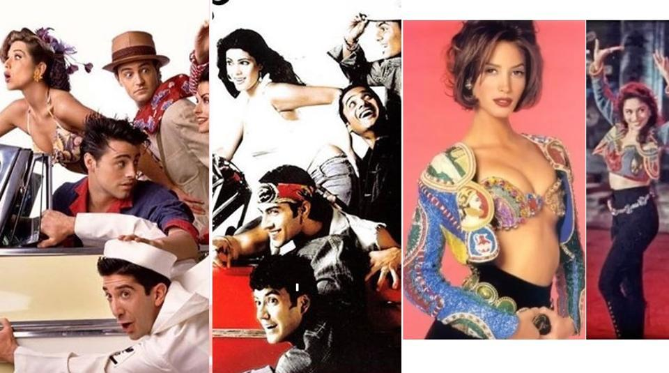 Diet Sabya gives history lesson in gandi copies with posts of Madhuri Dixit, Band of Boys ripping of Versace, FRIENDS. Designers hit back