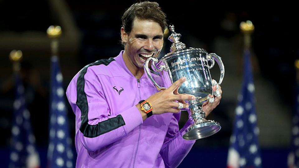 Rafael Nadal is the defending US Open champion.