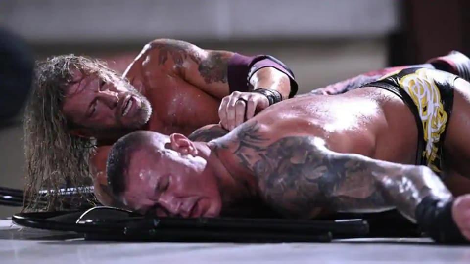 Edge Vs. Randy At Backlash